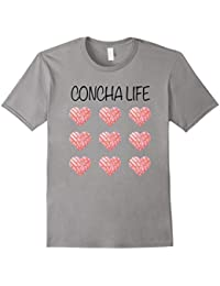 Concha life Mexican Bread pan dulce party t shirt