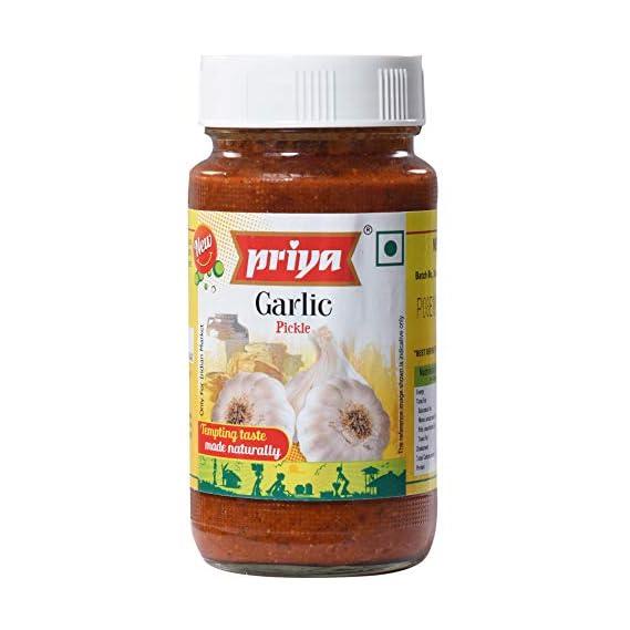 Priya Garlic Pickle, 300g