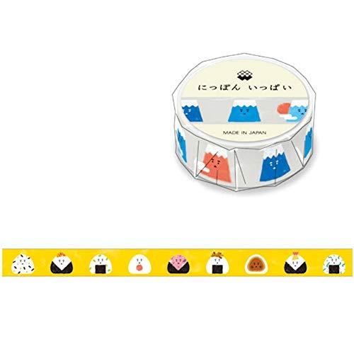 Mind Wave Japanese Washi Masking Paper Tape / Onigiri [ 93168 ]