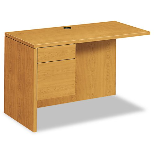 Hon 10500 Series - HON 10500 Series Laminate Desk Ensembles-Left Return, f/right ped.desk, 48
