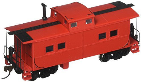Painted, Unlettered - Caboose Red Northeast Steel Caboose. HO (Northeast Hobby)