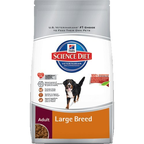 Hills Science Diet Adult Large Breed Dry Dog Food Bag 38.5-Pound