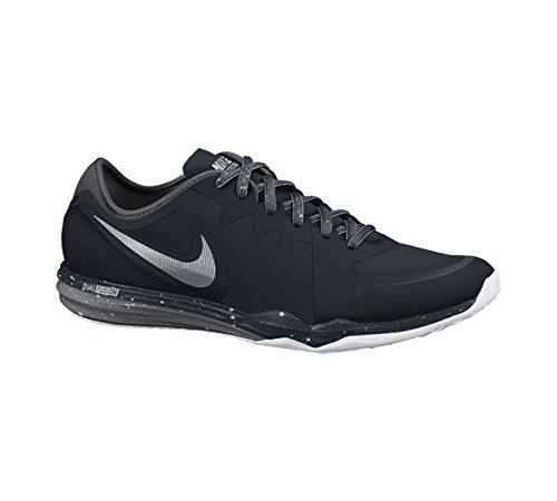 Nike Dual Fusion TR 3 Print - Zapatillas de cross training para mujer, color negro / gris / blanco, talla 38 NEGRO