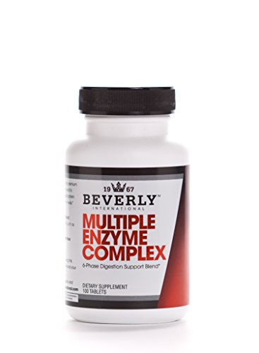 100 Enzyme Tablets - Beverly International Multiple Enzyme Complex, 100 tablets. Give your stomach a break. Your muscles will thank you