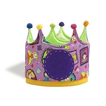 Micumacu- Super Princesas Corona cumpleaños, Color lila ...