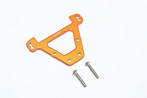 GPM Traxxas E-Revo Brushless / E-Revo VXL 2.0 Upgrade Parts Aluminum Rear Bulkhead - 1Pc Set Orange
