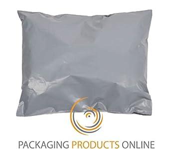 10 x gris reciclado bolsas de polietileno para envíos ...