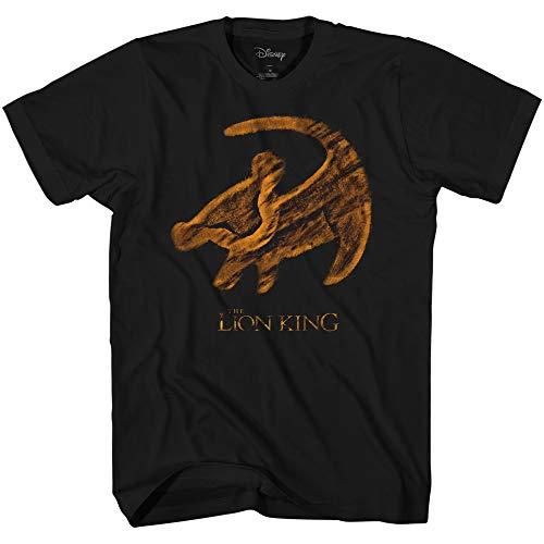 (Disney Lion King It's Him Tee Movie Disneyland Graphic Adult T-Shirt(Black,XXL))