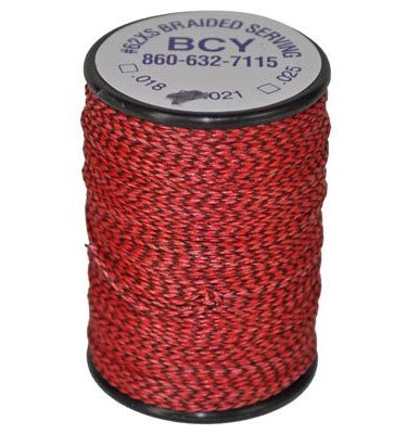 (Bohning Red #62 XS .021 Serving Thread )