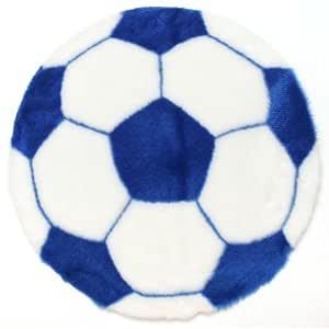 Debonsol - Alfombra Infantil de balón de fútbol de Azul diámetro ...