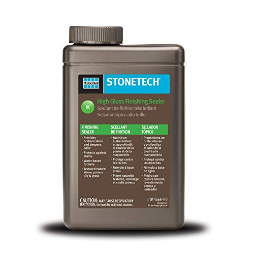Dupont High Gloss Sealer: Tuff Duck Granite, Grout And Marble Sealer 1 Quart Stone Tile