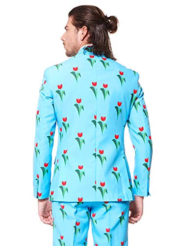 OppoSuits Funny Everyday Suits for Men Comes with Jacket, Pants and Tie in Funny Designs by OppoSuits (Image #2)