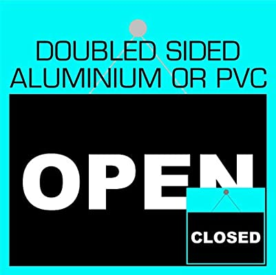Letrero abierto o cerrado 9118 Doiuble Side o 2 pegatinas de ...