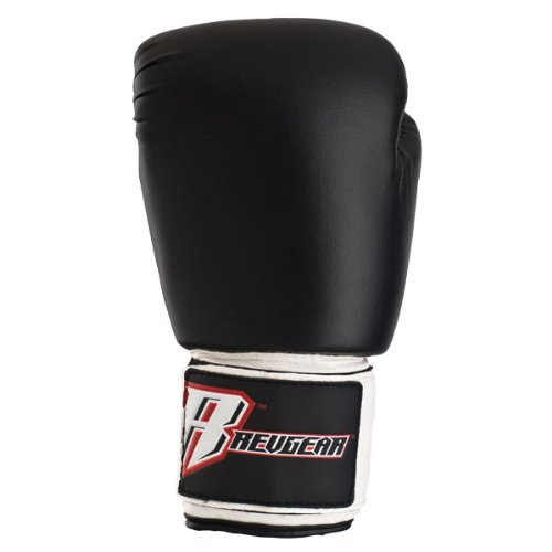 Revgear Deluxe Boxing Gloves (White, 12-Ounce) (Revgear Boxing Gloves 12oz)