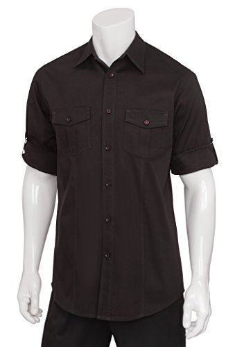 Chef Works Men's Two Pocket Shirt (DPDS) by Chef Works Men's Uniforms