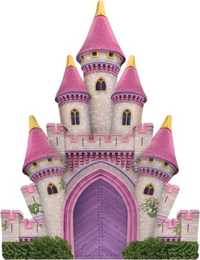 Paper House Jigsaw Shaped Puzzle 300 Pieces-magical Castle