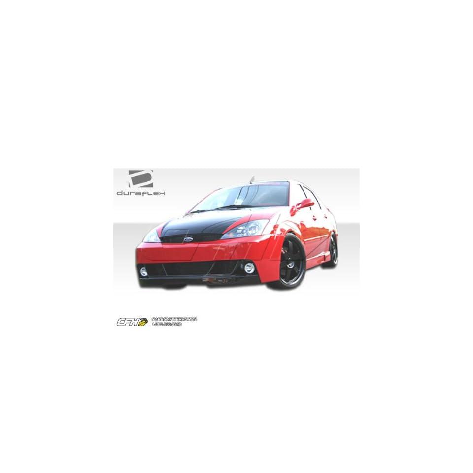 2000 2004 Ford Focus ZX3/ZX5 Duraflex Pro DTM Kit Includes Pro DTM Front Bumper (100044), Poison Rear Bumper (100038), and Pro DTM Sideskirts (100045).
