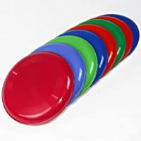 Frisbee Disc / Frisbees / Wurfscheiben farblich gemischt, 10 Stück (Nicht...