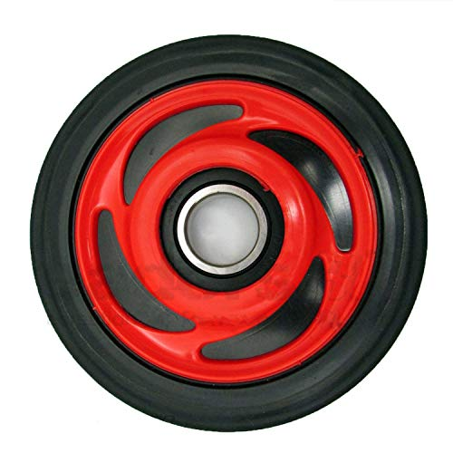 Polaris New OEM ASM Wheel Scrolled 5.62 I Red 1590318-293 ()