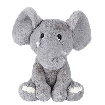 Amazon Com Karri Baby Elephant Stuffed Animal 10 Grey Baby