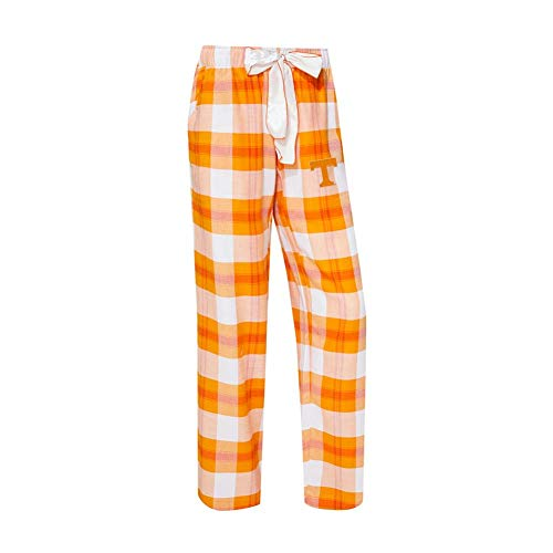 (Concepts Sport Tennessee Volunteers Vols UT Women's Flannel Pajamas Plaid PJ Bottoms (Small))