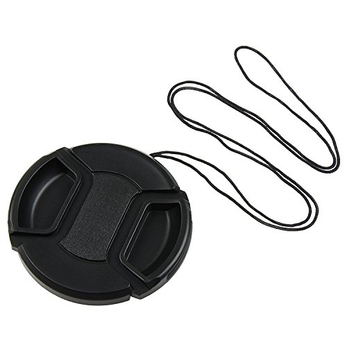 Insten 58mm Lens Cap Cover Compatible with Canon Rebel XTi XSi XS T1i T2i (Snap Plastic 43 Mm)