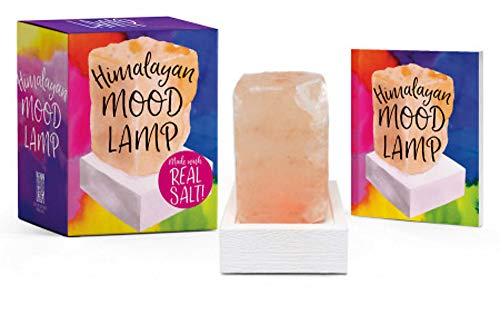 Himalayan Mood Lamp: Made with Real Salt! (Miniature ()