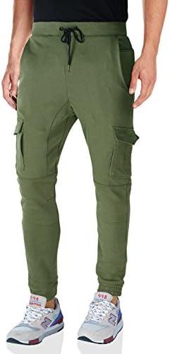 (マッチスティック)ジョガーパンツ メンズ スウェットパンツ 大きいサイズ ズボン 裾ゴム カジュアル テーパードパンツ 無地 #W5035
