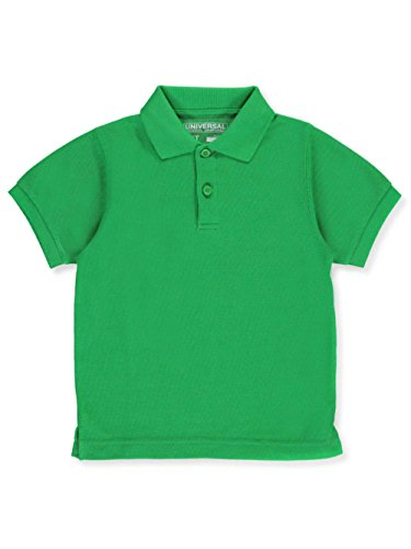 Universal Unisex S/S Pique Polo - kelly green, 6 by Universal School Uniforms