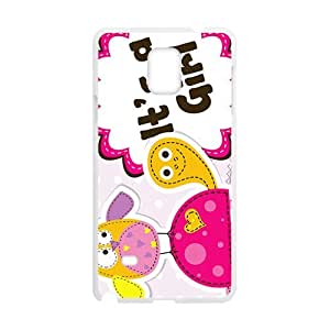 Lovely worm Cell Phone Case for Samsung Galaxy Note4 by runtopwell