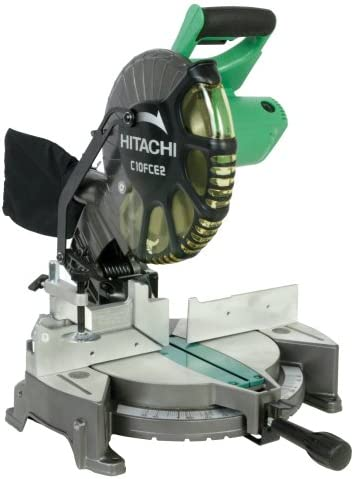 Hitachi C10FCE2 15-Amp 10-inch Single Bevel Compound Miter Saw Discontinued by Manufacturer