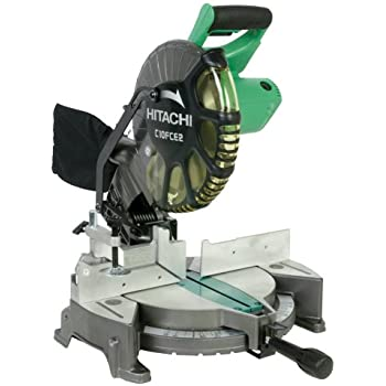 Hitachi c10fce2 15 amp 10 inch single bevel compound miter saw hitachi c10fce2 15 amp 10 inch single bevel compound miter saw discontinued by greentooth Choice Image