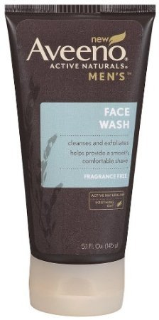 Aveeno Active Naturals Men's Face Wash, 5.1oz (Pack of 3)