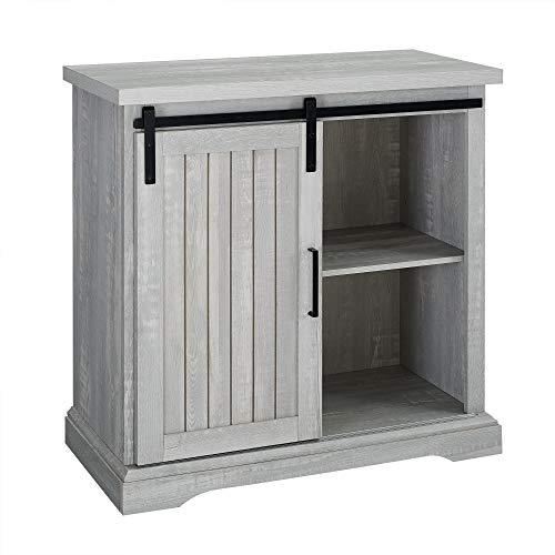 WE Furniture AZF32ALGRDST Buffet, 32