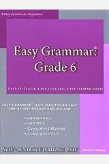Easy Grammar, Grade 6 Paperback