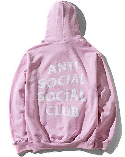 Mars NY Unisex Antisocial Social Club Hoodie Kanye for sale  Delivered anywhere in Canada
