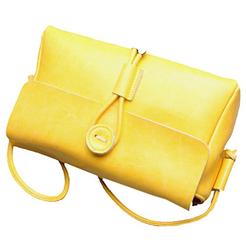 Yy.f Nuevos Bolsos De Cuero Bolsos De Cuero Bolsos Bolsas De Damas Casuales Bolsas De Hombro Del Diseñador De Las Mujeres Bolsos De Mano Multicolor Yellow
