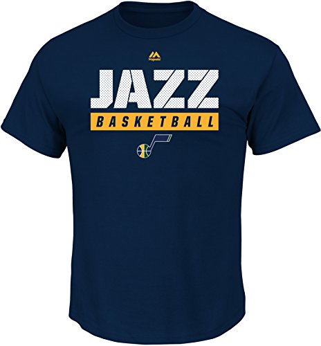 NBA Utah Jazz Men's Proven Pastime Short Sleeve Crew Neck Tee, X-Large, Athletic Navy
