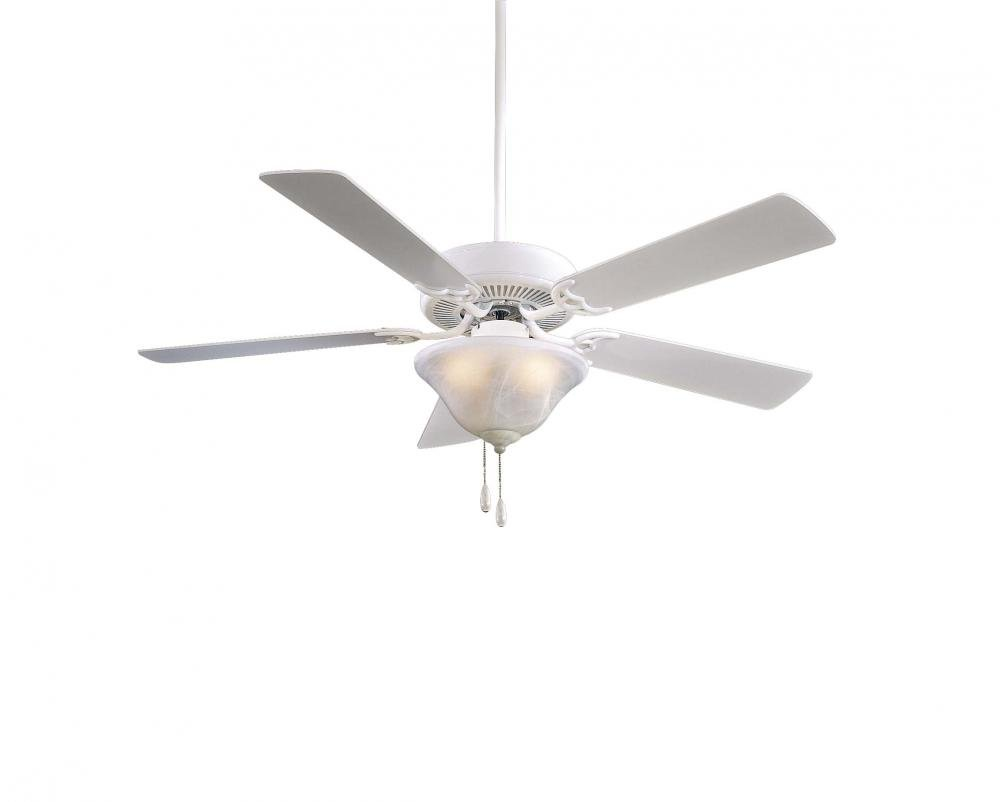 Minka-Aire F548-WH, Contractor Uni-Pack, 52'' Ceiling Fan, White