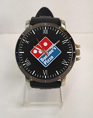 dominos-pizza-logo-sport-rubber-metal-watch