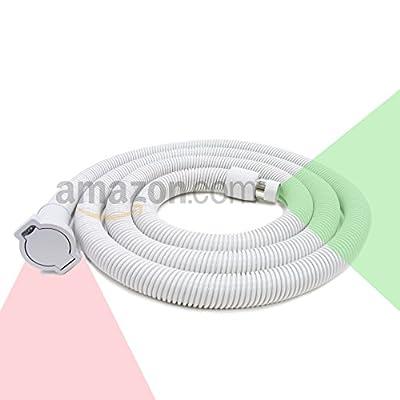 Generic Central Vacuum Cleaner Extension Hose Low Voltage, 12'