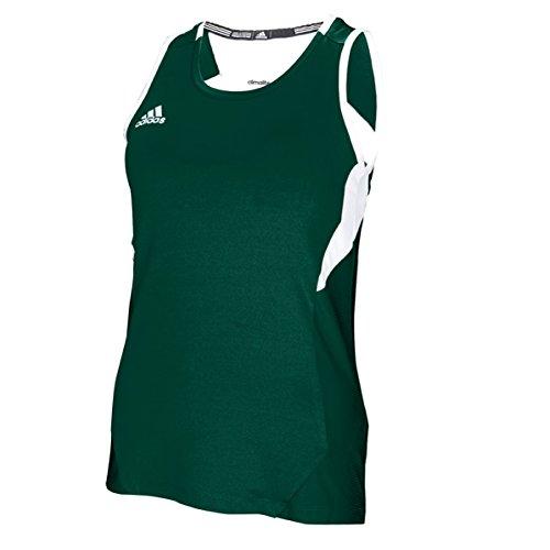 (adidas Women's Team Utility Tank Green LG )