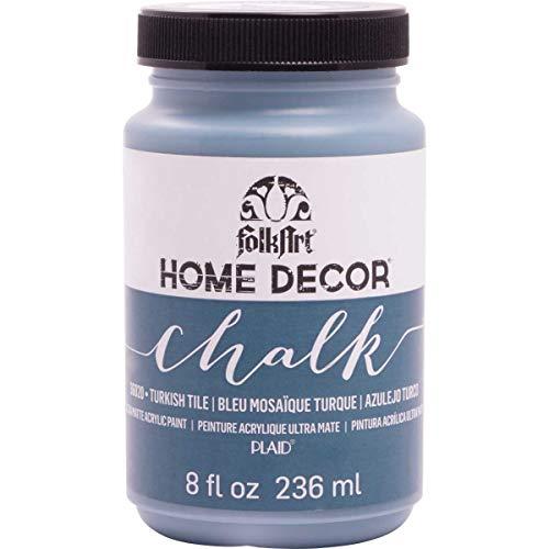 FolkArt Home Decor Chalk Paint 8oz, Turkish Tile