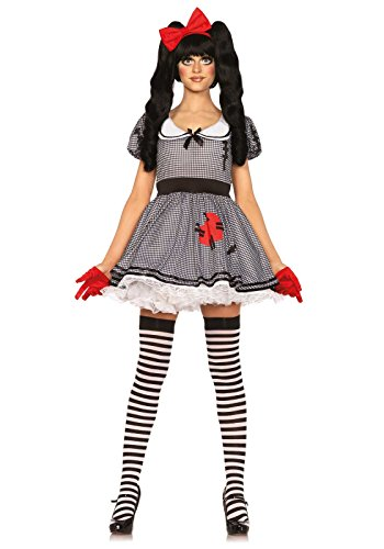 Leg A (A Doll Costume For Halloween)