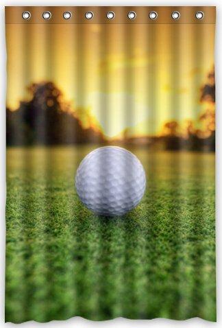 Amazon Cool Design Sports Golf Shower Curtain 48w X 72h