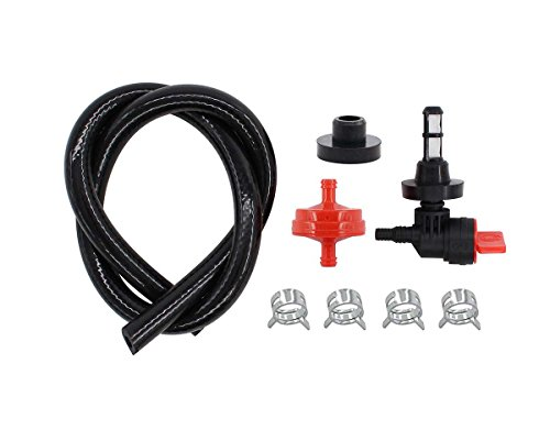 MOTOKU New Fuel Shut Off Valve Grommet Service Kit for Briggs & Stratton Pressure Washer Generator Replaces 192980GS 208961 Kohler 25 462 03-S Rotary 13116, 80270GS 78299GS 80270 78299 ()