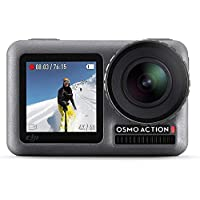 DJI OSMO Action Camera with DJI Care Refresh, Comes 128GB Extreme Micro SD, with 2 Displays, 11m Waterproof, 4K HDR…