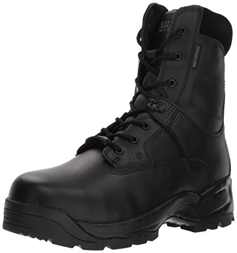 - 5.11 Men's ATAC Shield 8In Side Zip-U, Black, 9.5 D(M) US