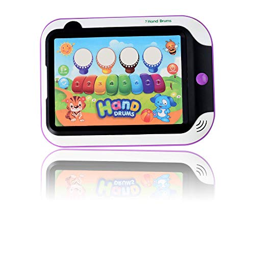 WolVol Kids Drum and Piano Musical Tablet - Durable Plastic