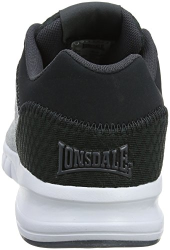 Lonsdale Men's Tydro Fitness Shoes Grey (Grey/Charcoal) LKw8fZ5
